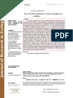 Response of wild okra (Corchorus olitorius L.) seeds to drought stress condition