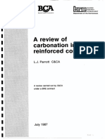A Review of Corbonation in Concrete