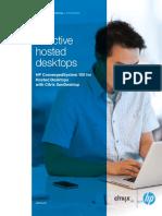 Effective Hosted Desktops Hp Convergedsystem 100 for Hosted Desktops With Citrix Xendesktop