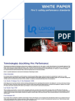 Fire Performance - White Paper