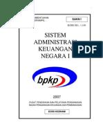 sistem administrasi keuangan negara I