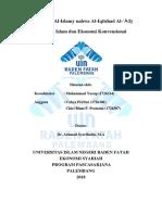Tugas Bahasa Arab Kel. 2 (Ekonomi Islam Dan Ekonomi Konvensional)