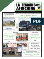 La semaine africaine n°3778 du Mardi 27 Mars 2018