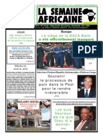 La semaine africaine n°3782 du Vendredi 13 Avril 2018