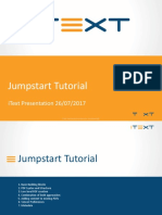 IText Jumpstart Tutorial