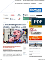2017-08-22 - MinPress _ Brexit Oportunidades Laborales en América Latina