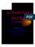 Embedded System for Speech Recognition [Read-Only] [Compatibility Mode]