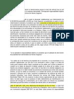 CAS. N° 2287-2011 ICA_Fallecimiento de un conductor al electrocutarse