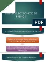 Sistema Electrónico de Frenos