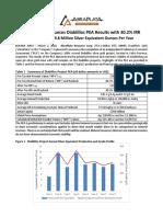 2018 04 02 Abraplata Announces Diablillos Pea Results