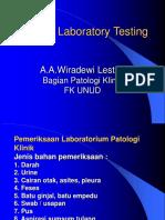 Lect. 6_Routine Laboratory Testing