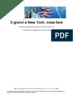 New York Con Carlo Galici 2017 3 Giorni Free