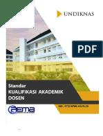 Universitas - Kualifikasi Akademik Dosen