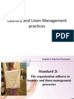 Laundry and Linen Management Practices