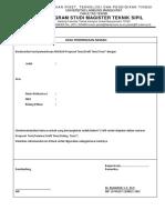 Form Pemeriksaan Naskah