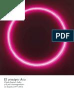 El Principio Asia. China, Japón e India y el Arte Contemporáneo en España (1957-2017)