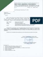 Undangan Rakor Pelaksanaan Padat Karya TA. 2018