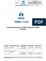 Hazard Identification & Risk Assessment (HIRA)_Procedure