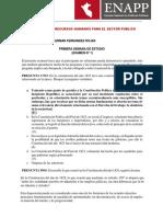 Examen Diplomado G Fernandez Rojas