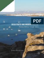 Joanna Kruczkowska - Irish Poets and Modern Greece _ Heaney, Mahon, Cavafy, Seferis (2017, Palgrave Macmillan)