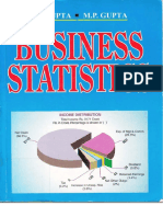 Business Statistics by [S P Gupta]