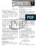 Razonamiento Matematico - Analisis Combinatorio