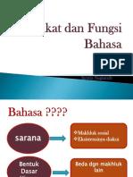 Hakikat Dan Fungsi Bahasa