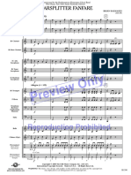0,5 Grade - Starsplitter Fanfare Partitura