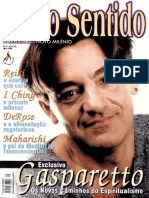 Revista Sexto Sentido - Canal Aberto Para o Alem - 2000 - Marco