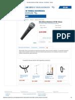 Micrófono Dinámico SV100 - Dinámicos - Micrófonos - Sonido