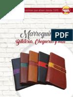 MARROQUINERIA Billeteras-Chequeras