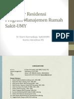 Kuliah Perdana II MMR-UMY