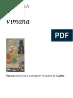 Vimana – Wikipédia, A Enciclopédia Livre