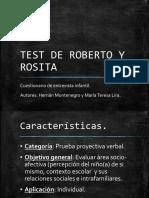 Presentación Test de Roberto y Rosita