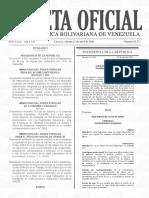 Gaceta Oficial N° 41.377