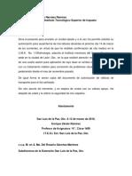 Oficio de Permiso Para El 01-02-2017