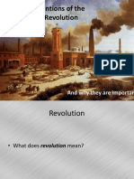 Famous Inventions of the Industrial Revolution