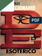 Diccionario Esotérico de Zaniah