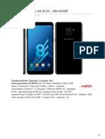 Samsung Galaxy A8 2018 SM-A530F -acombien.tn