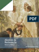 Foundations of the Restoration Teacher Manual Por