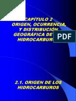 Cap 2 Origen, Ocurrencia y Distribución Geográfica de Los Hidrocarburos