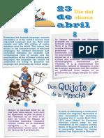 Día del idioma 23 de abril