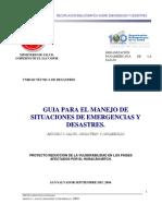 Conceptualización de Los Desastres (ACTUALIZADA)