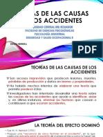 Teorías de Las Causas de Los Accidentes