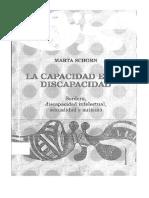 DocumentSlide.org-Schorn, Marta - La Capacidad en La Discapacidad (2).PDF