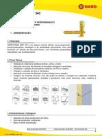 Boletim Tecnico Hardthane Smp 340