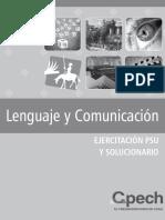Ejercicios y Solucionario Libro Anual Lenguaje y Comunicación