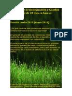 Información Desintoxicación Ayurveda Otoño 2018 Santiago