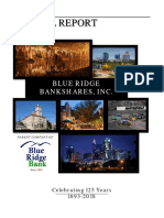 Blue Ridge Bank 2017 Annual Report