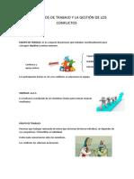 Tema 1. Los Equipos de Trabajo y La Gestión de Los Conflictos
